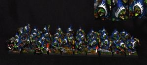 Night Goblin Regiment by FidgetyBudgie