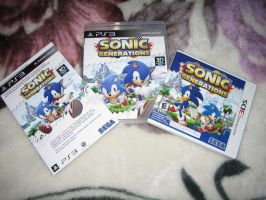 SONIC GENERATIONS XD by Hafu-Inuyasha
