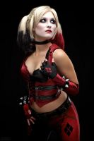 Arkham City Harley Quinn by MaiseDesigns