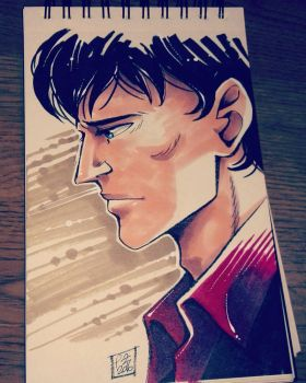 Dylan Dog sketch by gravetown