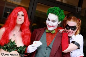 Ivy, The Joker, and Harley by Insane-Pencil