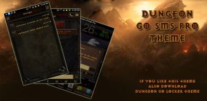 Diablo Dungeon Android Go SMS Theme by Jekmyster