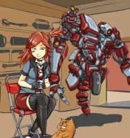 Gaige the Mechromancer by rooki1
