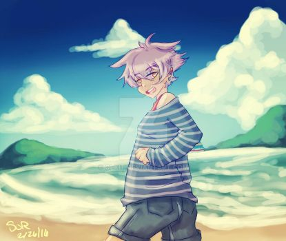 Beach Day for Lilly by Olkit
