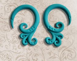 Fancy Filigree Earrings by minionized