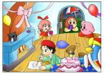 April - Kirby's Birthday Party by IvynaJSpyder