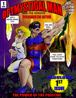 Optmystical Man Graphic novel cover sample one by montalvo-mike