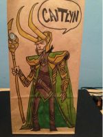 Loki Lunch Bag by SpencerPlatt