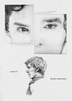 A STUDY IN Benedict Cumberbatch by KimShuttle