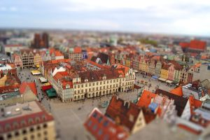TiltShift Wroclaw by Meernebel