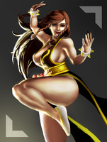 Chun-Li - Street Fighter V by plastic-brain