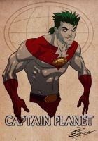 Captain Planet by pundiestudio
