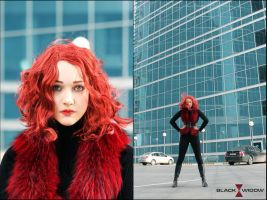 Black Widow cosplay by MigraineSky