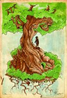 Tree-2 by htx