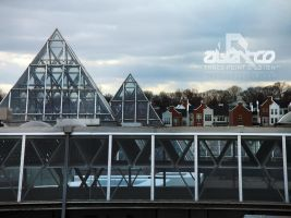 Suburban Rooftops by abentco