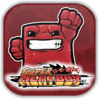 Super Meat Boy Game Icon by Wolfangraul