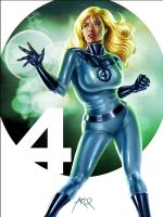 Invisible Woman - FF Detail by ArcosArt