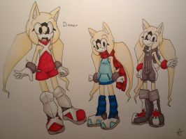 Dimmer the Hedgehog by UnknownSpy