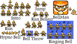 BellMan Sprite Sheet by hfbn2