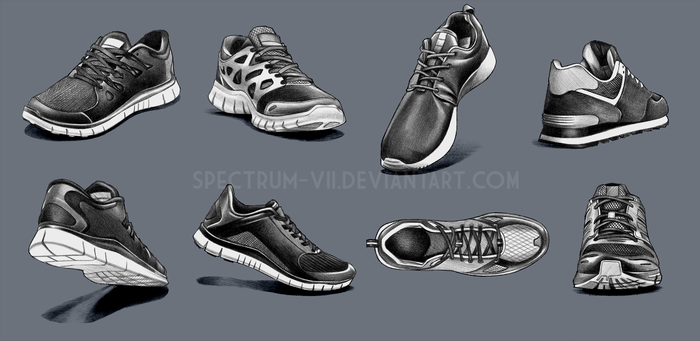 A study in shoes by Spectrum-VII