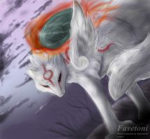 Okami commision by Favetoni