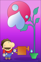 Mario's new Plant. by the-JACKANAPES
