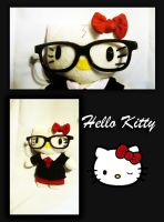 Hello Kitty goes to Hogwarts by CelestialCrafts