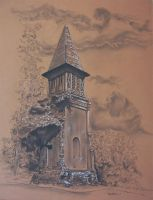 St. Mary's Steeple in Athens GA by nthelton