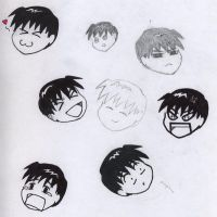 The Faces of Chibi Roy Mustang by live4him4eva