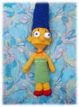 AMIGURUMI MARGE SIMPSON by Ladyhook77
