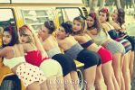 Pinup Girls by joanfra