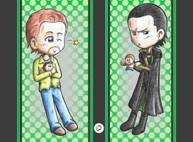 Hiddleston vs Loki by Freaky-chan