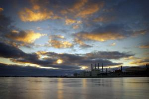 Last Light over Algoma Steel by tfavretto