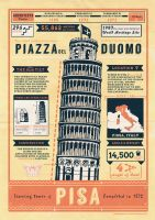 Pisa - Infographic by yolkia