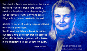 Susan Jacoby on Atheism and Morality.. by rationalhub