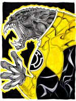 Yellow Lantern Arkillo by misfitcorner