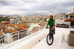 bike on the roof by erdal
