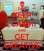 Keep Calm and Get Creative by FallencloudTheOnly1