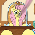 Just my luck Fluttershy TFTG (EDITED) by Shirai-Ryu-Pikachu