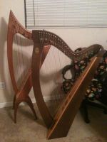 Two harps are better than one! by Zchanning