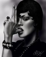 Rihanna by BriGolden
