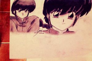 Ranma angles by GemidreameR