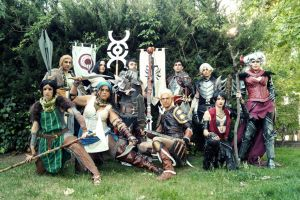 Dragon Age - cosplay group by VeroEs