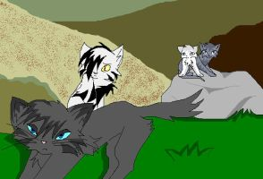 Stormtail and Moonflower - Not the best Father by AshtailXMoonfrost