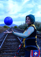 Borderlands 2 Maya Cosplay - Phaselock by sugarpoultry