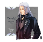 Xaphiel - Feathers Dark by Clange-kaze