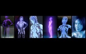 Cortana Evolution by Billy619