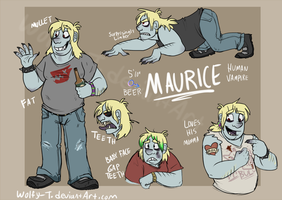 Maurice Hutch 2014 by Wolfy-T