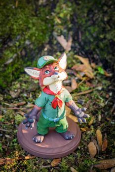 Zootopia Junior Ranger Scout Nick by WickedSairah