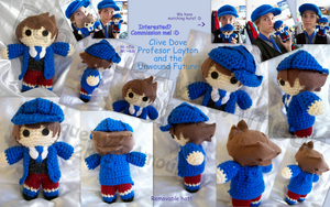 Clive Dove Doll by LucarioFan1996